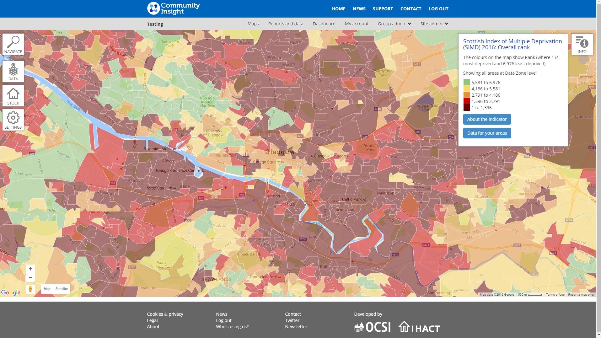 Scottish Index of Multiple Deprivation: Understanding local